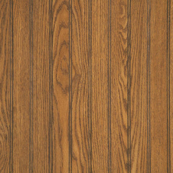 "Highland Oak beaded paneling in our factory cut wainscot height, 48""W x 32""H"