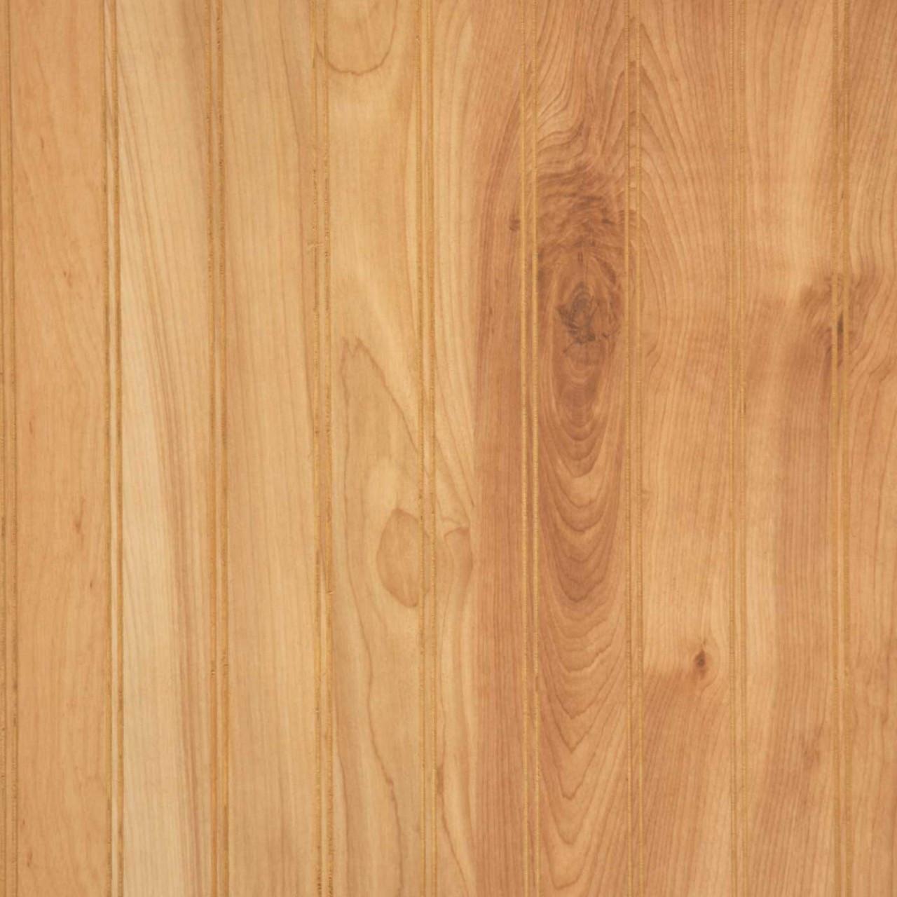 Natural Birch Paneling Wainscot BeadBoard