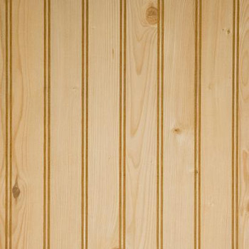 Beaded rustic pine beaded wainscot paneling