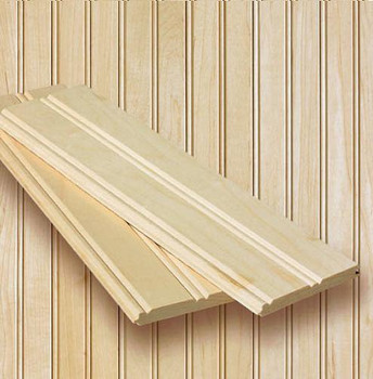 Maple Beaded Planking Kit ... 8-foot x 8-foot