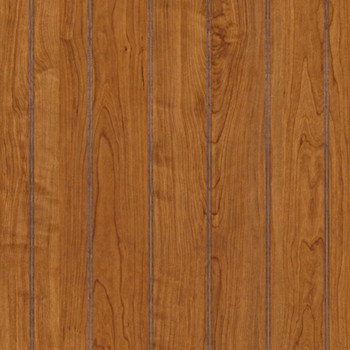Williamsburg Cherry Beadboard Paneling in wainscot height. Detailed image