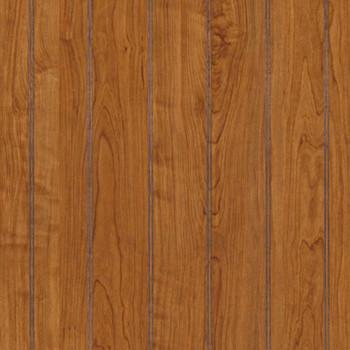 Williamsburg Cherry Beadboard Paneling in wainscot height. Detailed image