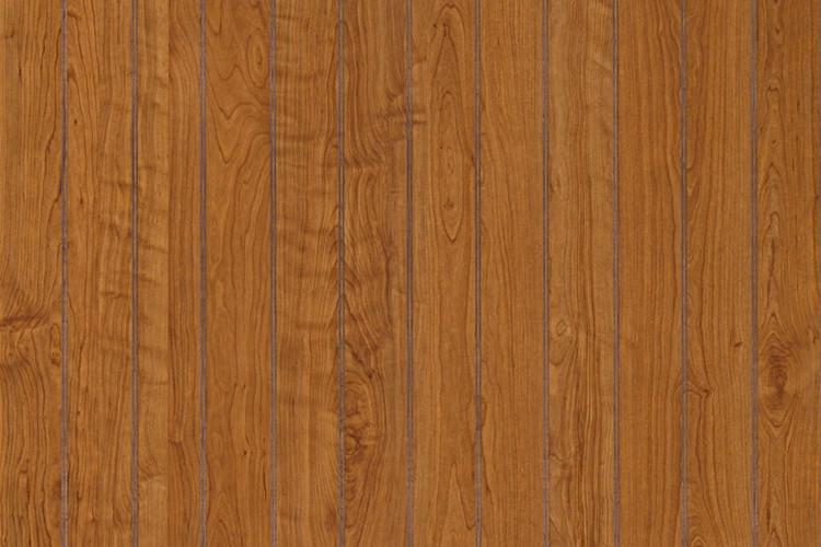Williamsburg Cherry Beadboard Paneling in wainscot height