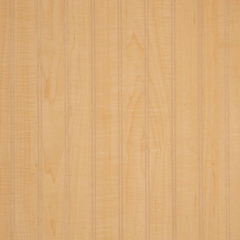 Natural Maple laminate beadboard paneling