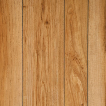 Natural Hickory Wood Paneling