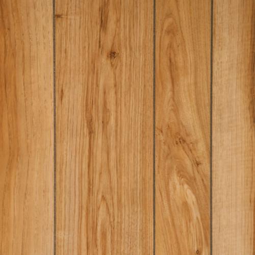 Natural Hickory Wood Paneling