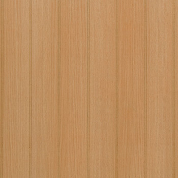 "4"" bead pattern Red Oak Veneer Paneling.  Ready for finishing"