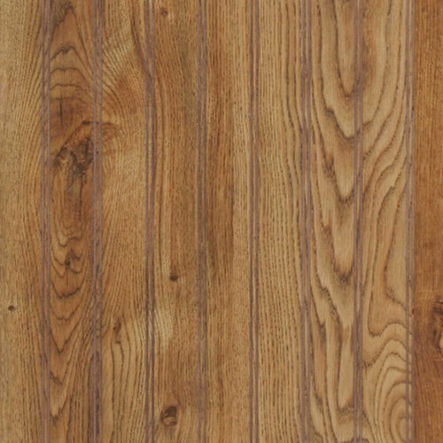 Gallant Oak medium brown beadboard paneling