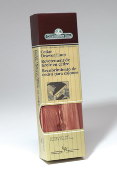 CedarBerry Hill aromatic cedar drawer liners provide natural pest control and a fresh scent