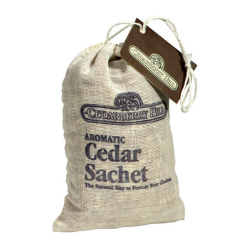 Aromatic Cedar Sachets, a natural pest control also freshens your closets, drawers and cabinets
