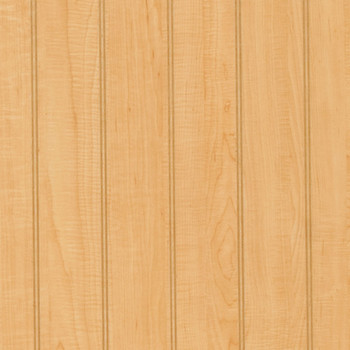 "4"" Natural Maple laminate beaded paneling"