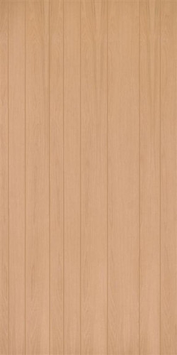 Unfinished Red Oak Veneer Random Groove Paneling
