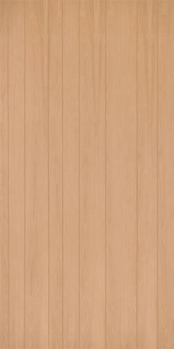unfinished red oak veneer random groove paneling