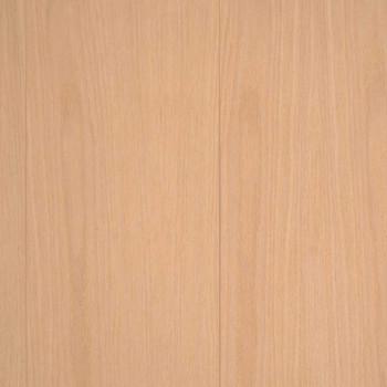 Unfinished Red Oak Veneer Random Groove Paneling Detail