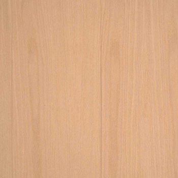 Unfinished Red Oak Veneer Random Groove Paneling Detail