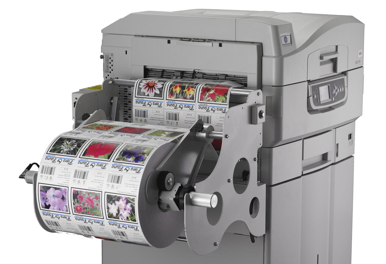 Color printer label - Isys Apex 1290 Color Label Printer