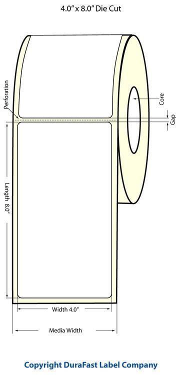 Epson TM-C3500 4x8 High Gloss Label Roll | Epson Media | 811027