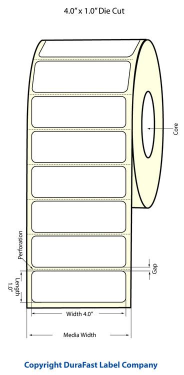 Epson TM-C3500 4x1 Matte BOPP Label Roll | Epson Media | 814017