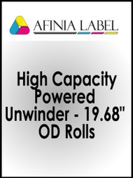 "Afinia DLP-2000 High Capacity Powered Unwinder - 19.68"" OD Rolls"