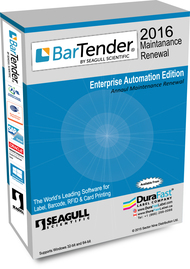 BarTender 2016 Enterprise Automation Maintenance Renewal  with 3 Printer License