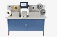 Use the Primera FX1200 Digital Finishing System to digitally cut labels to any size or shape without dies.