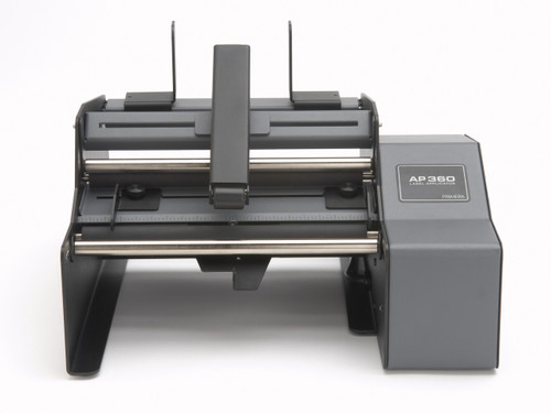 Get the Primera AP360 Label Applicator to applies single labels to your bottles