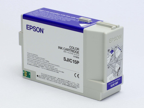 Epson TM-C3400 Color Ink Cartridge SJIC15P