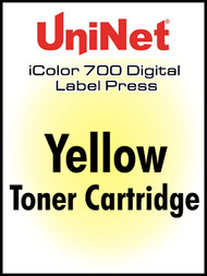 UniNet iColor 700 Yellow Toner Cartridge