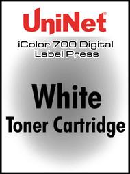 UniNet iColor 700 White Toner Cartridge