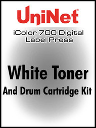 UniNet iColor 700 White Toner & Drum Kit