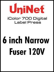 "UniNet iColor 700- 6"" Narrow Fuser 120V"