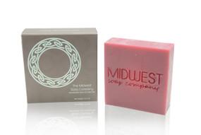Raspberry Mint Artisan Soap Bar - 5.3oz