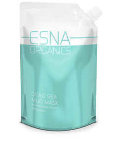 Esna Organics All Natural Dead Sea Black Mud Mask - 24oz
