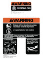 Ariens GT17-GT20 Warning Decals