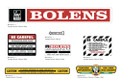 Bolens Weed Cutter Decals