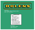 Bolens Chainsaw Decals