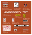 "Jacobsen 1978 20"" Super Blitz Snowblower Decal Kit"
