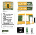 SEARS 1971 Custom 10XL Decal kit