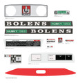 BOLENS 1053 Lawn Tractor Decal kit