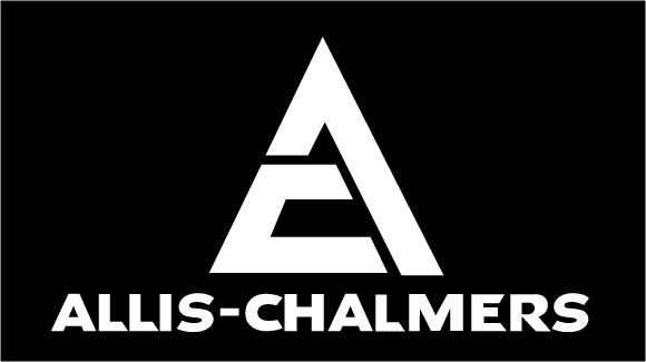 Allis Chalmers Decal Kits : Allis chalmers white seat decal vintage reproductions