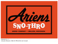 Ariens Sno-Thro Scoop Decal