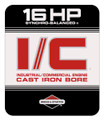 Briggs and Stratton 16HP engine decal