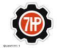 Ariens 7HP Gear Decal