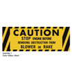 Ariens 1965-1974 10000 & 910000 Series Caution Blower Decal