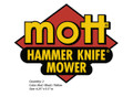 Mott Hammer Knife Logo Decals
