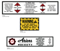 Ariens Rocket V Decal Kit