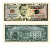Barack Obama Collectible 2008 Novelty Bill