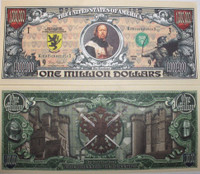 Medieval One Million Dollar Bill