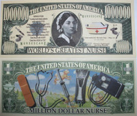 Nurse One Million Dollar Bill