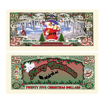 25 Dollar Christmas Bill